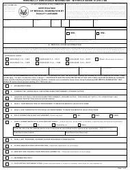 """NRC Form 396 """"Certification of Medical Examination by Facility Licensee"""""""