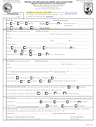 """FWS Form 3-186A """"Migratory Bird Acquisition and Disposition Record"""""""