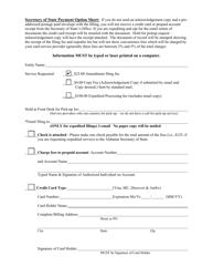 """Foreign Limited Liability Company (LLC) Amendment to Registration"" - Alabama, Page 3"