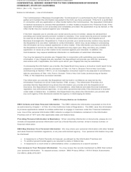 """Form DBO-3 """"Confidential Resume Submitted to the Commissioner of Business Oversight, State of California"""" - California, Page 2"""