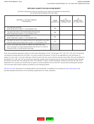 "Form CDTFA-770-DZ ""Claim for Refund on Nontaxable Sales and Exports of Diesel Fuel"" - California, Page 3"