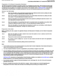 "Form CDTFA-770-DZ ""Claim for Refund on Nontaxable Sales and Exports of Diesel Fuel"" - California, Page 5"