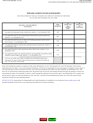 "Form CDTFA-770-DV ""Diesel Fuel Ultimate Vendor Report/Claim for Refund"" - California, Page 3"