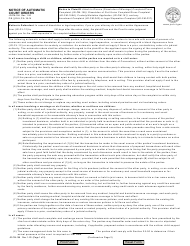 "Form JD-FM-158 ""Notice of Automatic Court Orders"" - Connecticut"
