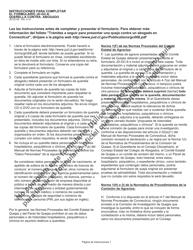 """Formulario JD-GC-6S """"Querella Contra Abogado (Querella De Agravio)"""" - Connecticut (Spanish)"""