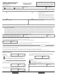 "Form JD-HM-2 ""Summary Process Execution for Possession (Eviction)"" - Connecticut"