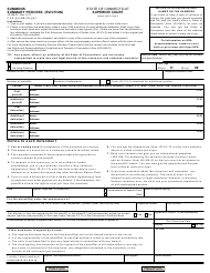"""Form JD-HM-32 """"Summons - Summary Process (Eviction)"""" - Connecticut"""