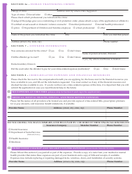 """Form JD-VS-8EI """"Emotional Injury Application"""" - Connecticut, Page 3"""