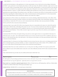 """Form JD-VS-8EI """"Emotional Injury Application"""" - Connecticut, Page 4"""
