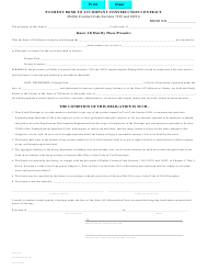 "Form STD807 ""Payment Bond to Accompany Construction Contract"" - California"