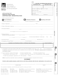 "Form P-18.1 ""Application for Private Applicator Certification/Recertification"" - Hawaii"