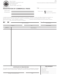 "Form FS-2 ""Application for Registration of Commercial Feeds"" - Hawaii"