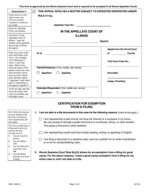 Form EW-C3401.2  Printable Pdf