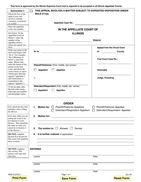 Form MNA-O2704.2  Printable Pdf