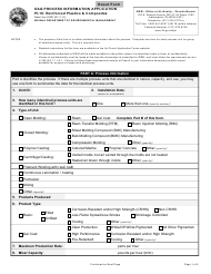 """Form PI-16 (State Form 52557) """"Reinforced Plastics & Composites"""" - Indiana"""