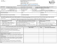 "Form CCL002 ""Background and Registry Check S for Child Care Facilities"" - Kansas"