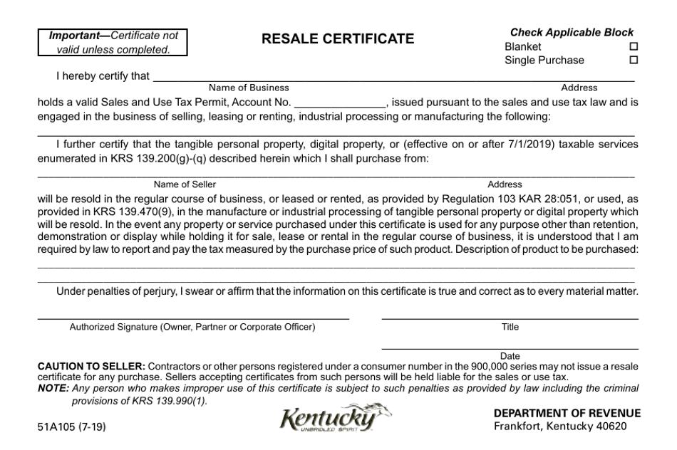 certificate resale form kentucky printable templateroller fill