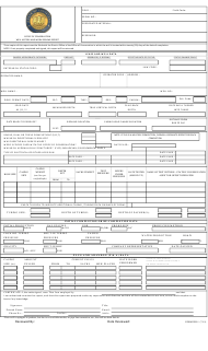 "Form WH-1 ""Well History and Work Resume Report"" - Louisiana"