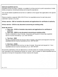 "Form CSCL/CD-753 ""Articles of Organization and Certificate of Conversion for Use by Domestic Partnerships or Domestic Limited Partnerships to Convert to a Domestic Limited Liability Company"" - Michigan, Page 4"