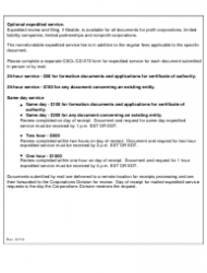 "Form CSCL/CD-730 ""Certificate of Dissolution for Use by Limited Liability Companies"" - Michigan, Page 3"