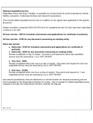 """Form CSCL/CD-715 """"Certificate of Amendment to the Articles of Organization for Use by Limited Liability Companies"""" - Michigan, Page 3"""