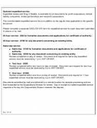 """Form CSCL/CD-750 """"Certificate of Merger for Use by Limited Liability Companies"""" - Michigan, Page 4"""