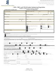 "Form 1042 ""Cre, Crpa and Crab Isolate Submission Requisition"" - Mississippi"