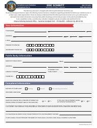 """Sunshine Law Violation Complaint Form"" - Missouri"