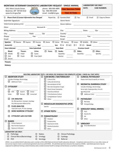 Form SV43 Printable Pdf