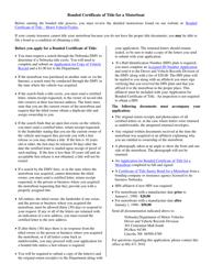 """Application for Bonded Certificate of Title for a Motorboat"" - Nebraska, Page 2"