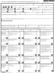 NAVPERS Form 1616/26 Evaluation Report&counseling Record (E1-e6)