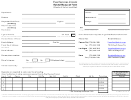 "Form MP-2 ""Short-Term Rental Request"" - Nevada"