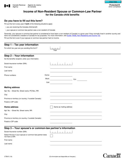 Form CTB9 Printable Pdf