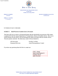 """Form DF-18 """"Work Authorization Letter"""" - New Jersey"""