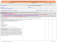 """""""New Mexico Doh / Dhi / Qmb Case Manager Interview - Individual Specific Interview Survey Tool"""" - New Mexico"""