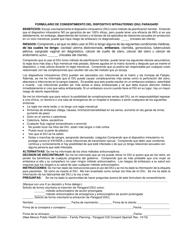 """""""Formulario De Consentimiento Del Dispositivo Intrauterino (Diu) Paragard"""" - New Mexico (Spanish)"""