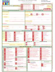 "Form 101 ""Sld Clinical Test Request Form"" - New Mexico"