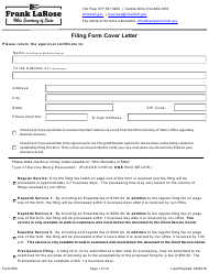 """Form 550 """"Certification of Consolidation"""" - Ohio"""
