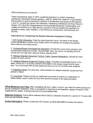 """DHEC Form 3188 """"Release Detection Equipment Testing"""" - South Carolina, Page 4"""