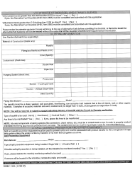 """DHEC Form 2101 """"Application for Permit to Install"""" - South Carolina, Page 3"""