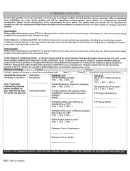 """DHEC Form 2101 """"Application for Permit to Install"""" - South Carolina, Page 5"""