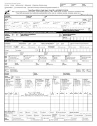 "Form CR-3A ""Texas Peace Officer's Crash Report Form"" - Texas"