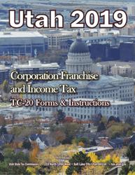 "Instructions for Form TC-20 ""Utah Corporation Franchise and Income Tax Return"" - Utah, 2019"