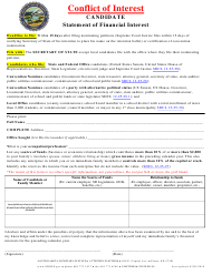 """Candidate Statement of Financial Interest"" - South Dakota"