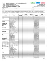 "Form MO580-3175 ""Vaccine Accountability Form"" - Missouri"