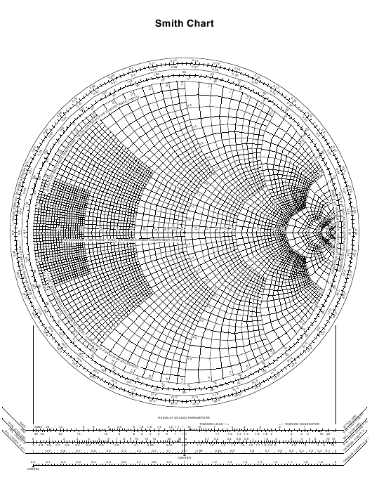 """Black and White Smith Chart"" Download Pdf"