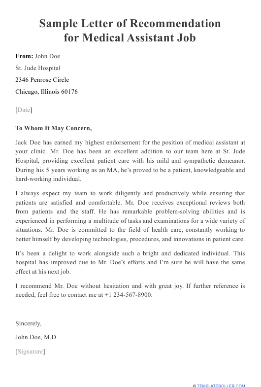 Coworker Letter Of Recommendation from data.templateroller.com