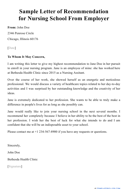 Request Letter Of Recommendation Template from data.templateroller.com
