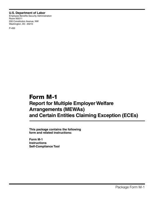 Form M-1 2015 Printable Pdf