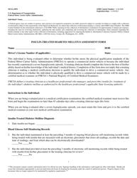 "Form MCSA-5870 ""Insulin-Treated Diabetes Mellitus Assessment Form"""